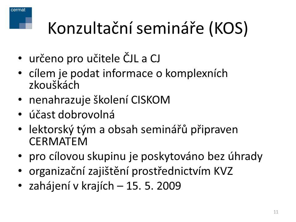 Konzultační semináře (KOS)
