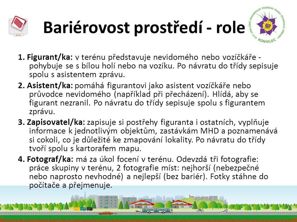 Bariérovost prostředí - role