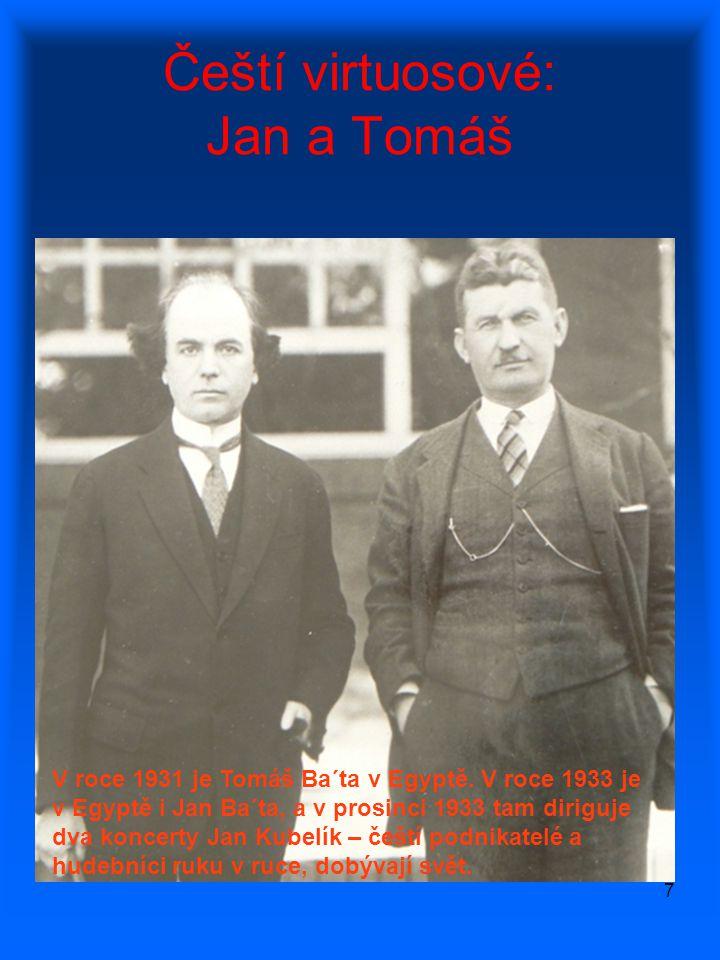 Čeští virtuosové: Jan a Tomáš