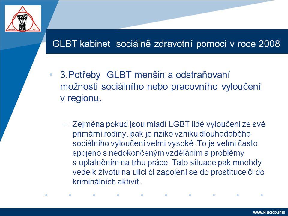GLBT kabinet sociálně zdravotní pomoci v roce 2008