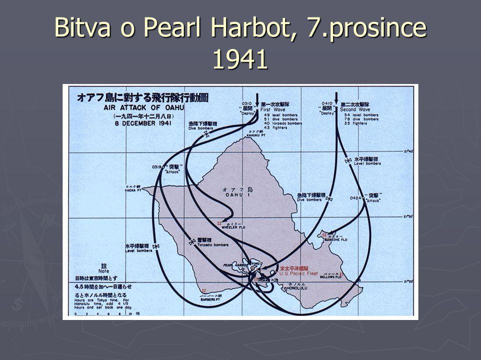 Bitva o Pearl Harbot, 7.prosince 1941