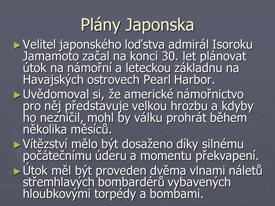 Plány Japonska