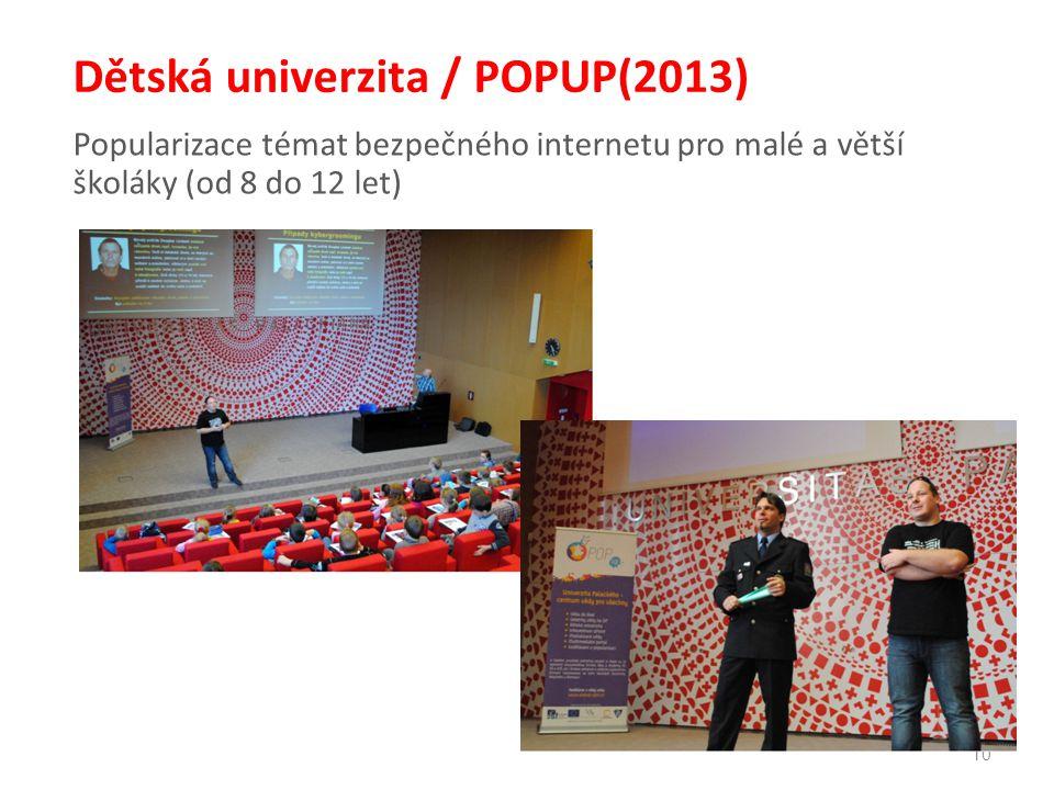 Dětská univerzita / POPUP(2013)