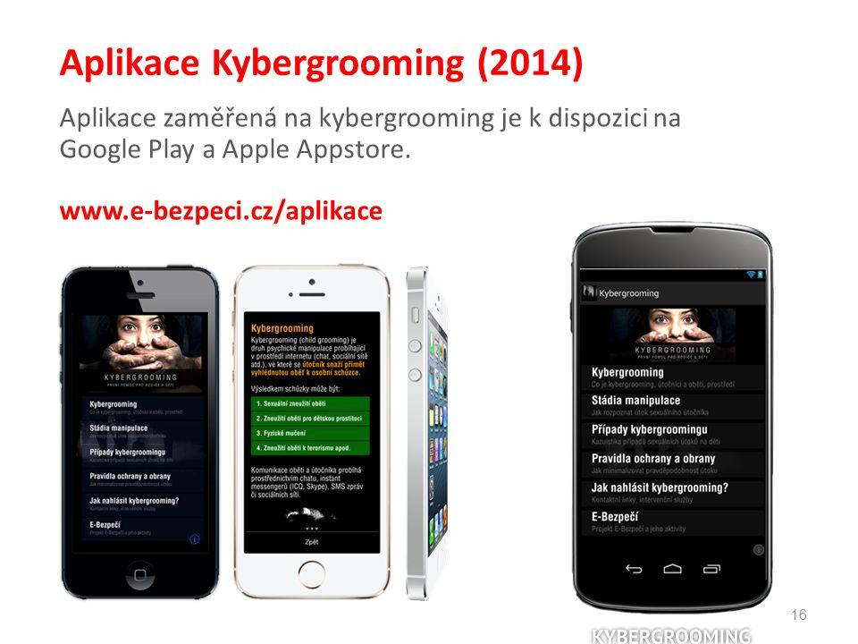 Aplikace Kybergrooming (2014)