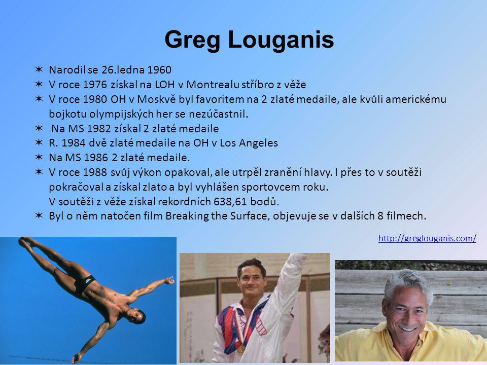 Greg Louganis Narodil se 26.ledna 1960