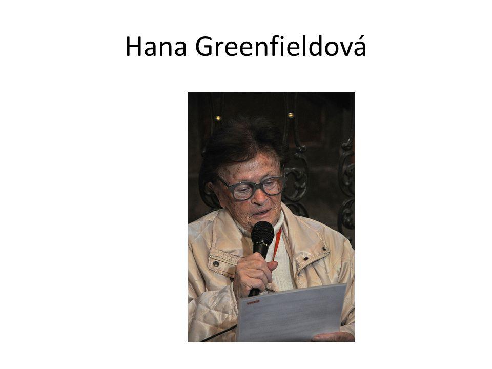 Hana Greenfieldová