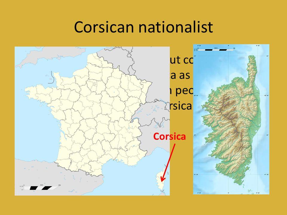 Corsican nationalist