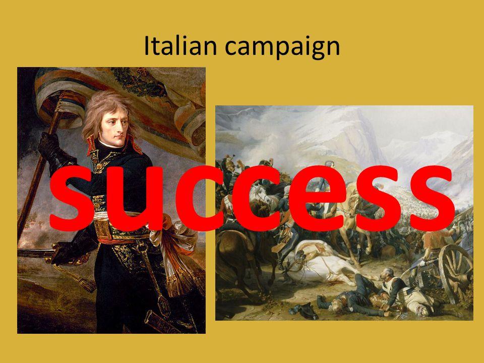 Italian campaign success