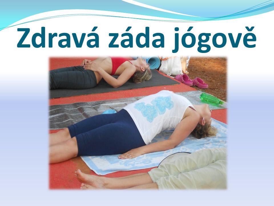 Zdravá záda jógově