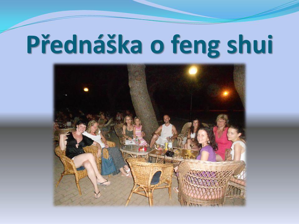 Přednáška o feng shui