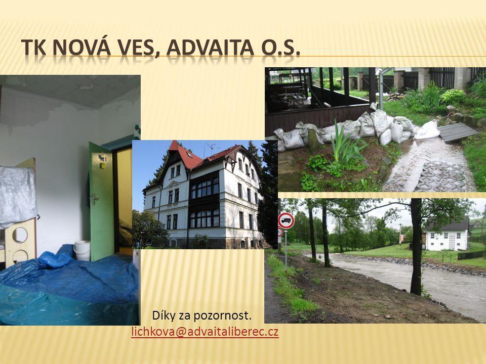 Díky za pozornost. lichkova@advaitaliberec.cz