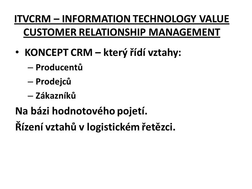 customer relationship management and information technology pdf