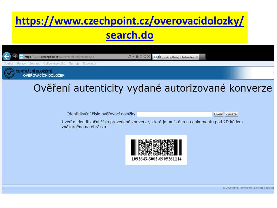 https://www.czechpoint.cz/overovacidolozky/search.do