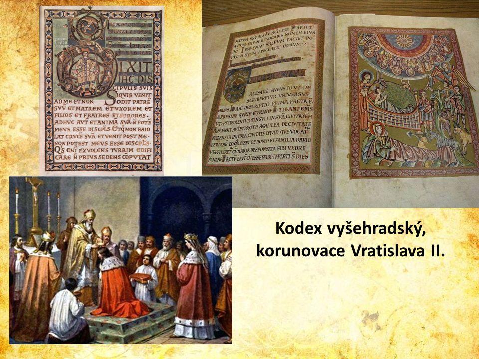 Kodex vyšehradský, korunovace Vratislava II.