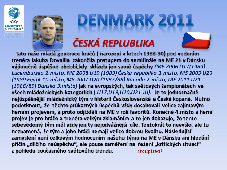 Denmark 2011 ČESKÁ REPLUBLIKA