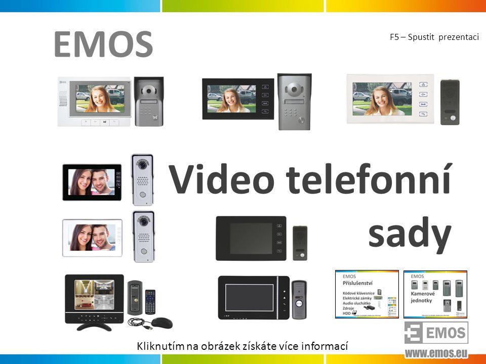 Video telefonní sady EMOS Kliknutím na obrázek získáte více informací