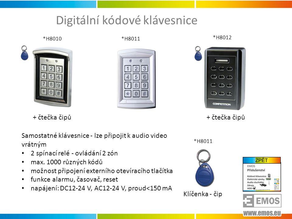 Digitální kódové klávesnice