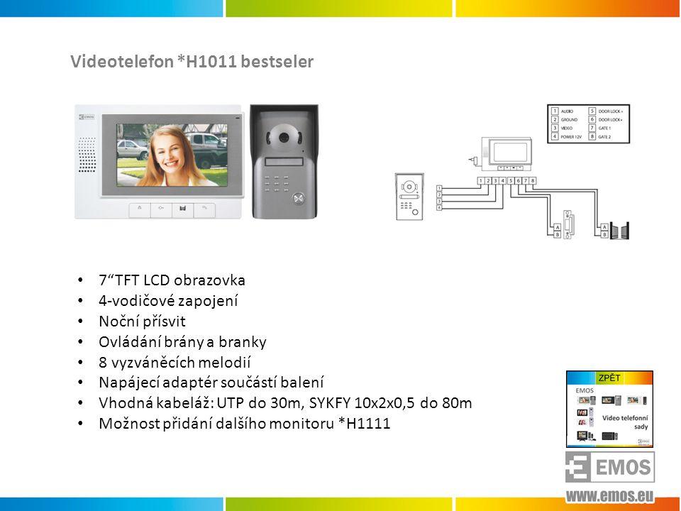 Videotelefon *H1011 bestseler