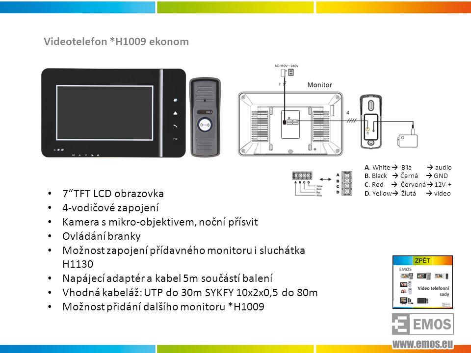 Videotelefon *H1009 ekonom