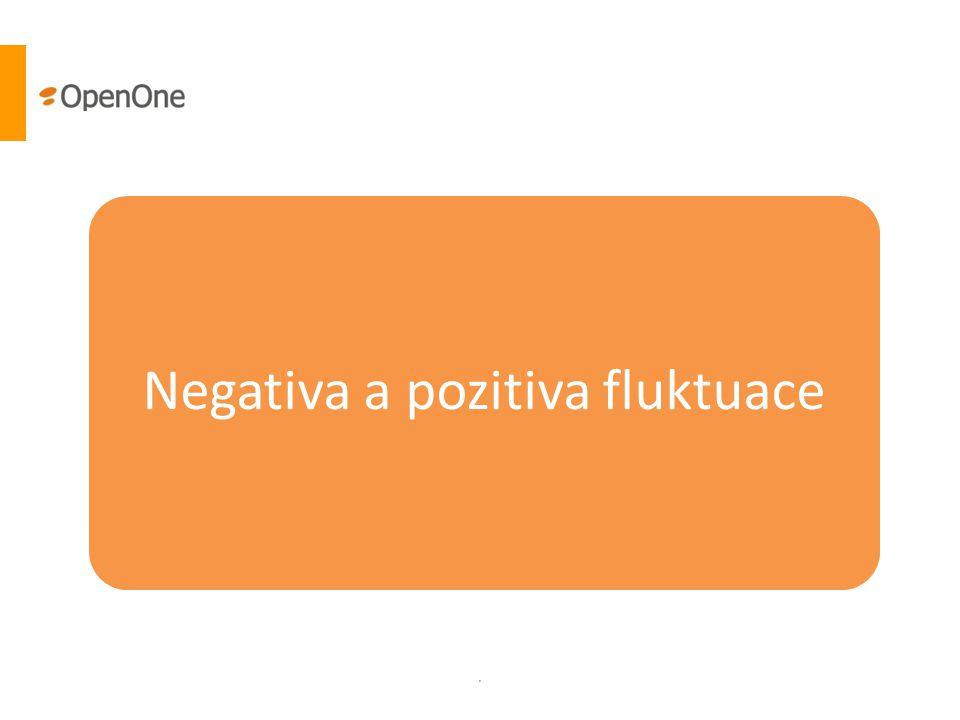 Negativa a pozitiva fluktuace