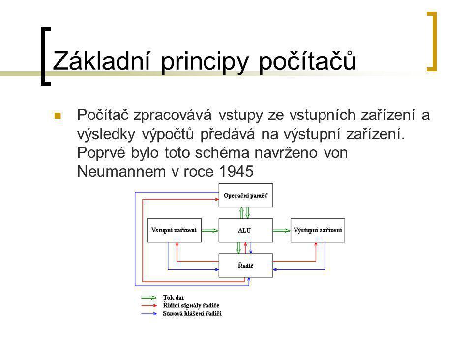Základní principy počítačů