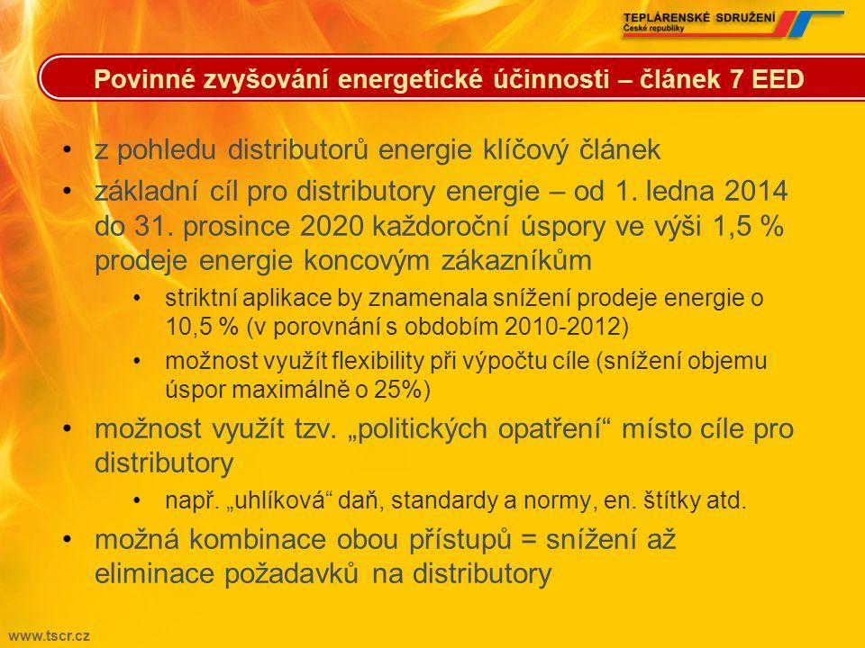 z pohledu distributorů energie klíčový článek
