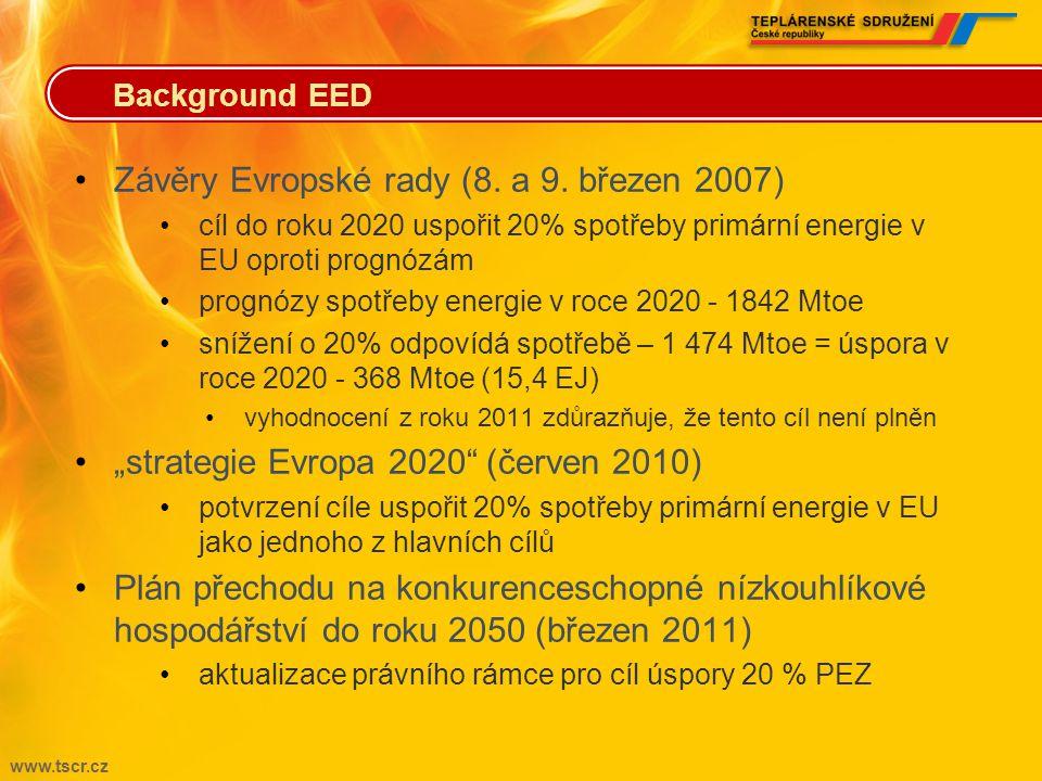 Závěry Evropské rady (8. a 9. březen 2007)
