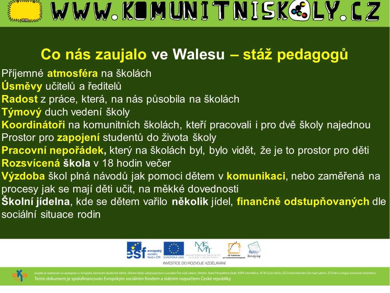 Co nás zaujalo ve Walesu – stáž pedagogů