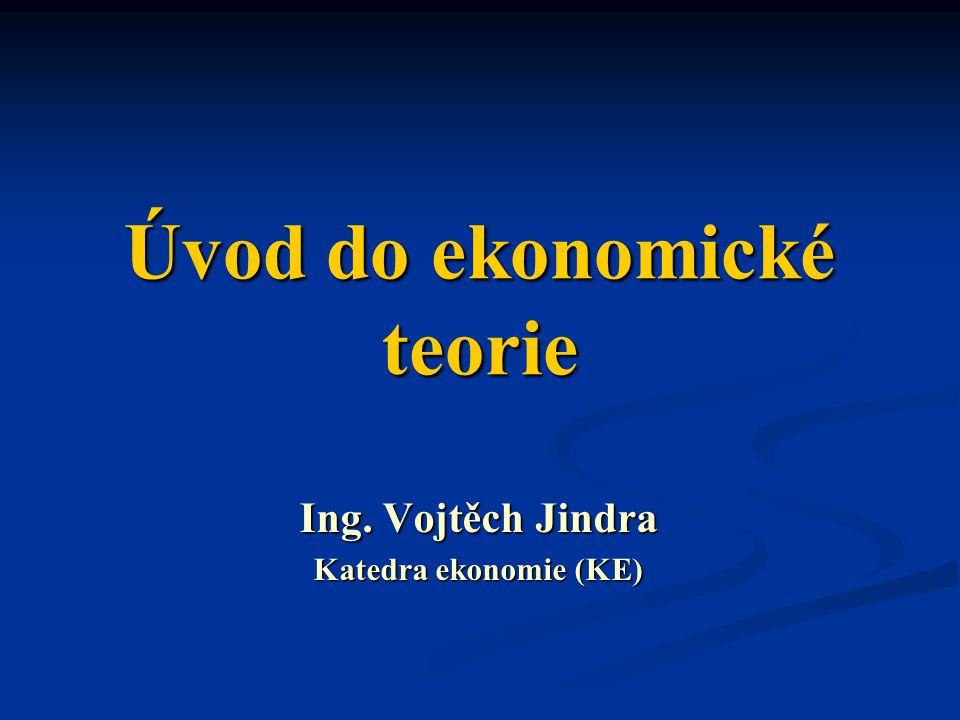 Úvod do ekonomické teorie