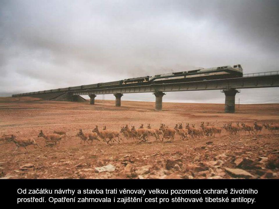 Od začátku návrhy a stavba trati věnovaly velkou pozornost ochraně životního prostředí.