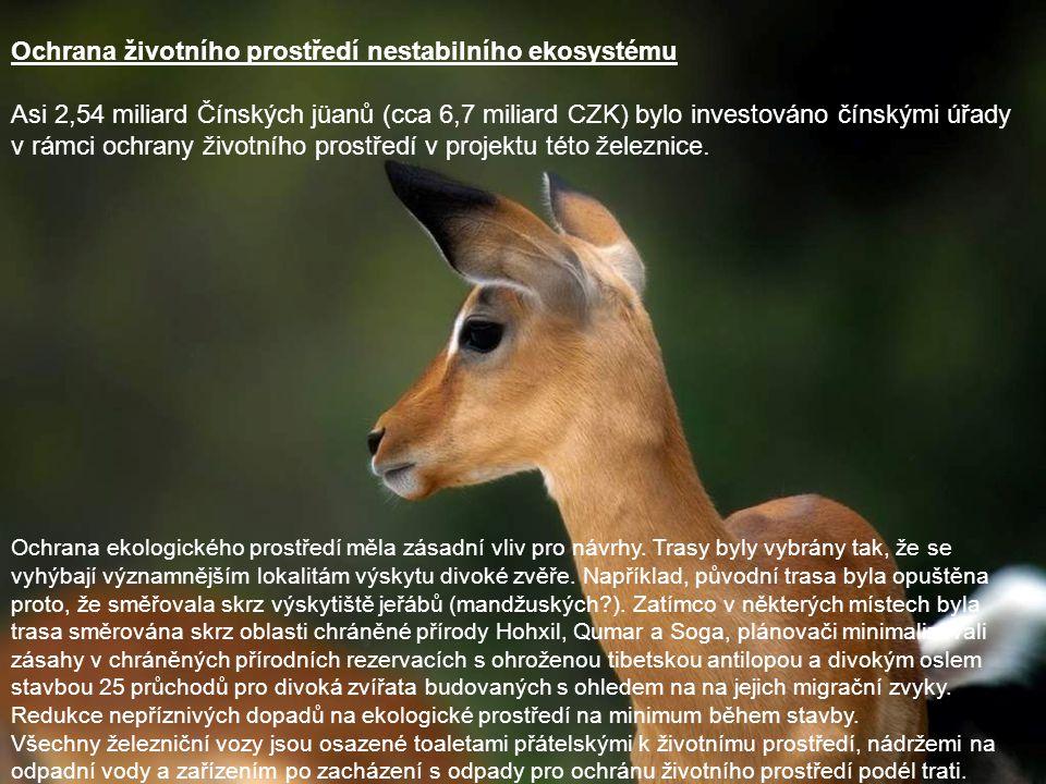 Ochrana životního prostředí nestabilního ekosystému