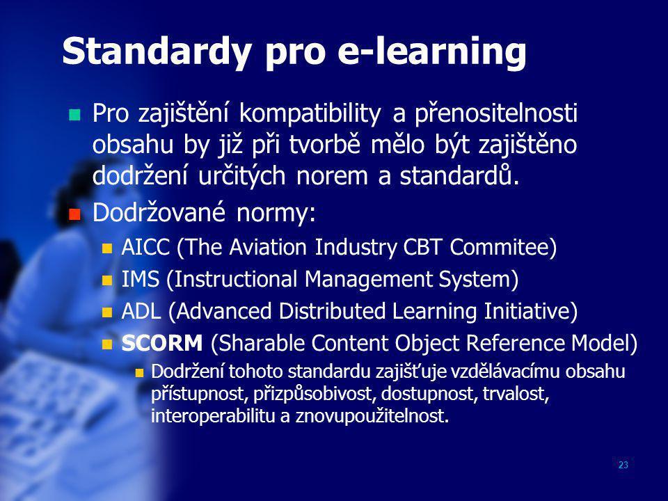 Standardy pro e-learning