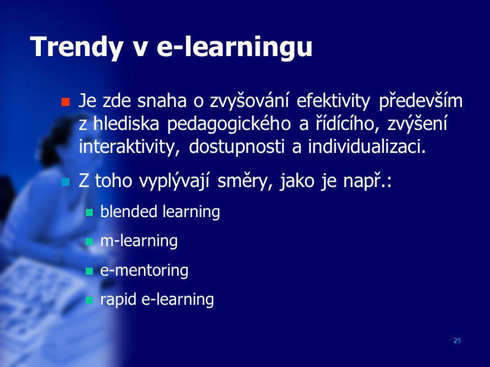 Trendy v e-learningu