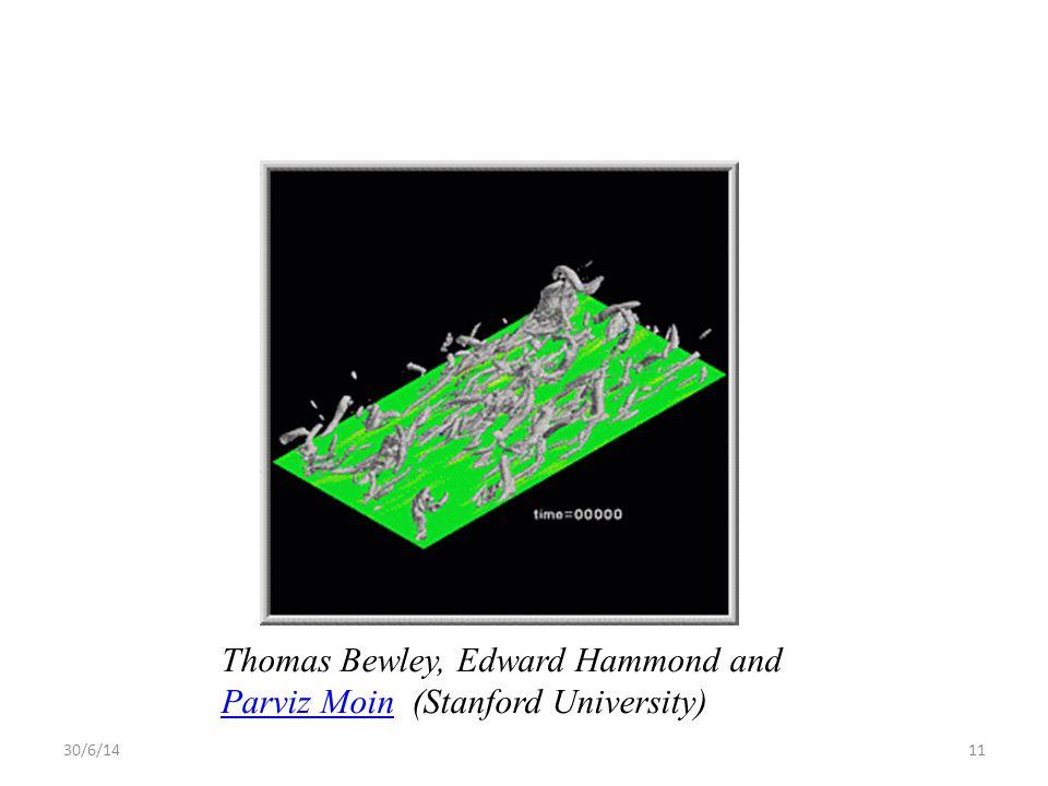 Thomas Bewley, Edward Hammond and Parviz Moin (Stanford University)