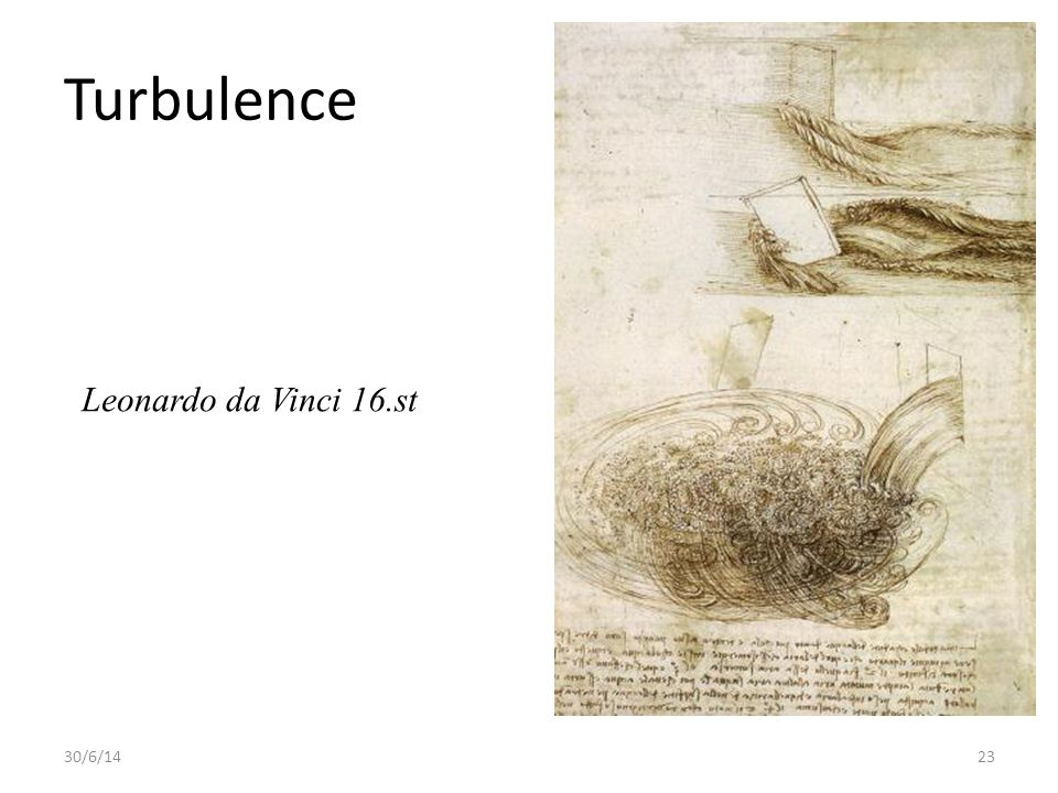 Turbulence Leonardo da Vinci 16.st 3/4/17
