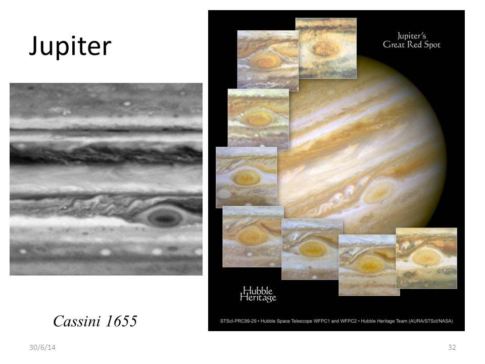 Jupiter Cassini 1655 3/4/17