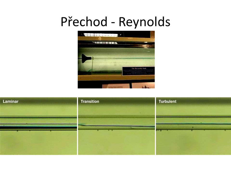 Přechod - Reynolds