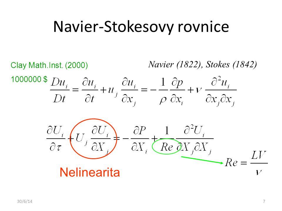 Navier-Stokesovy rovnice