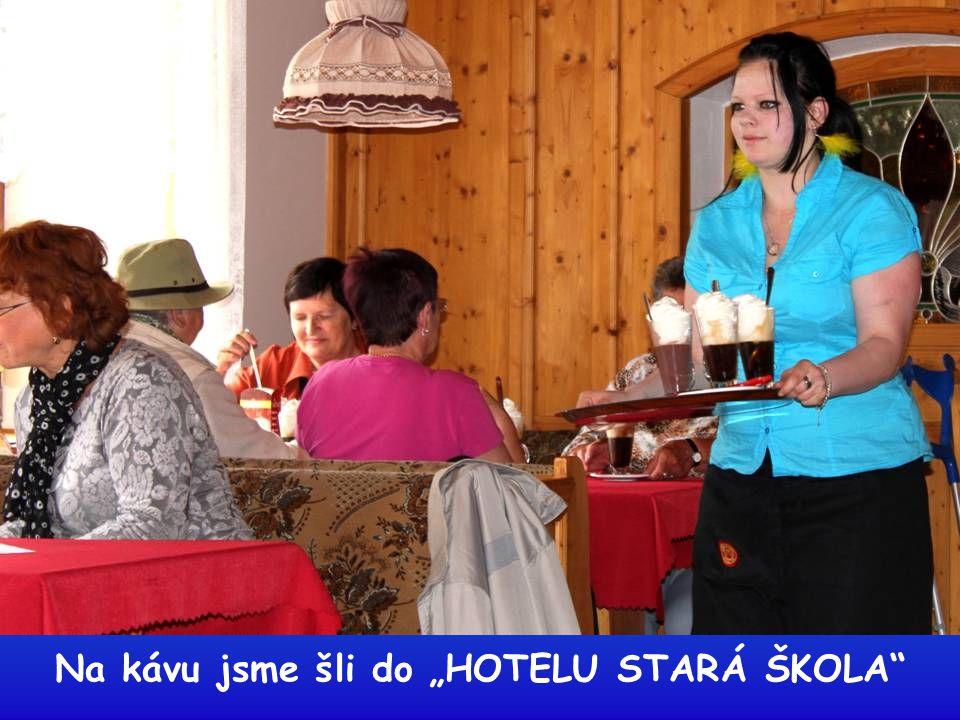 """Na kávu jsme šli do """"HOTELU STARÁ ŠKOLA"""