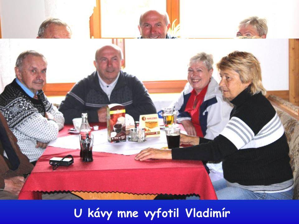 U kávy mne vyfotil Vladimír