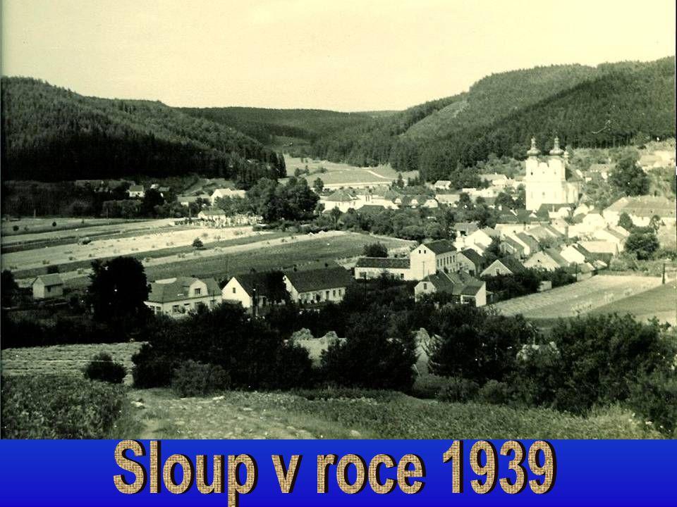 Sloup v roce 1939