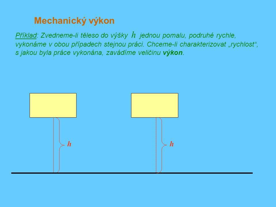 Mechanický výkon