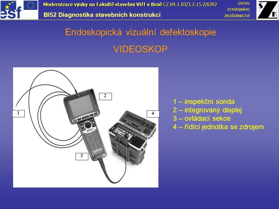 Endoskopická vizuální defektoskopie VIDEOSKOP