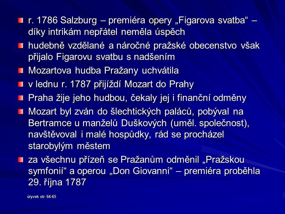 Mozartova hudba Pražany uchvátila