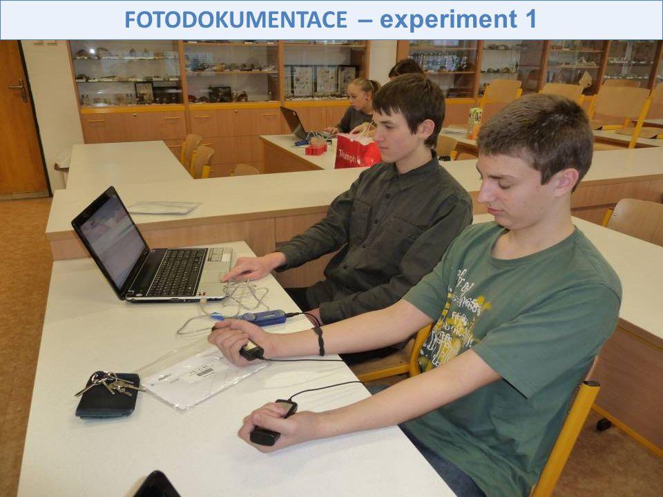 FOTODOKUMENTACE – experiment 1