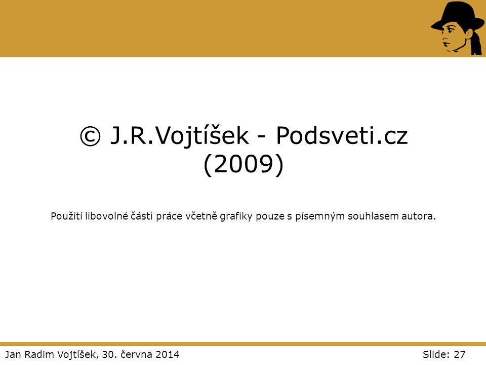 © J. R. Vojtíšek - Podsveti