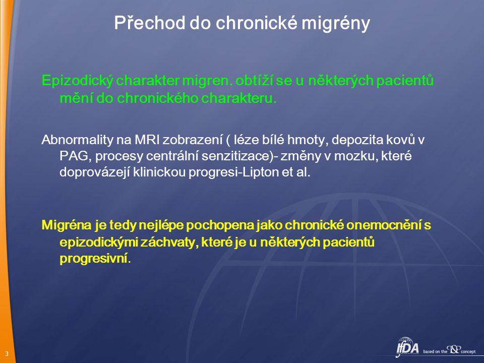 Přechod do chronické migrény