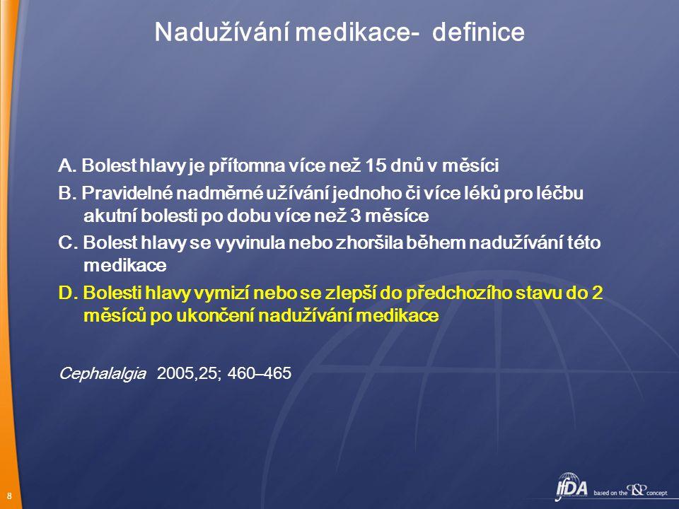Nadužívání medikace- definice