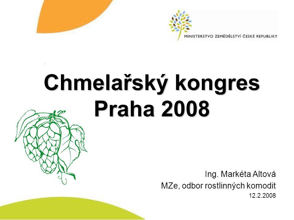 Chmelařský kongres Praha 2008
