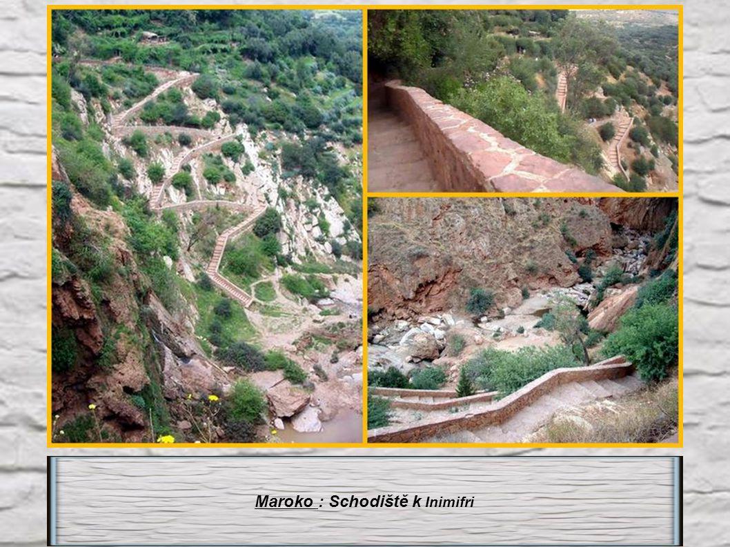 Maroko : Schodiště k Inimifri